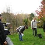 ARD Ratgeber Heim + Garten beim Dreh