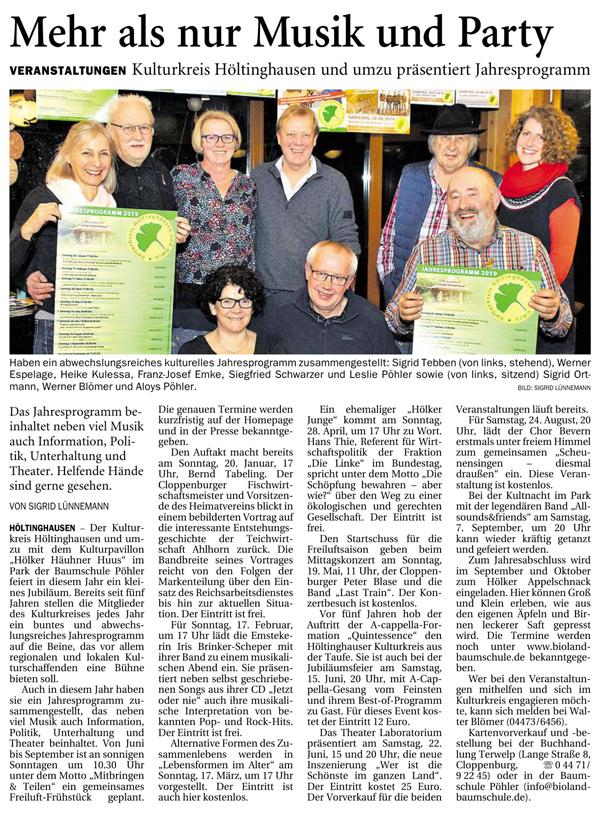 Zeitungsausschnitt_Jahresprogramm