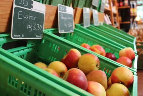 Äpfel aus Demeter-Anbau
