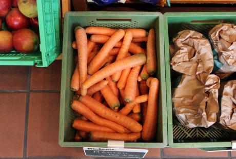 Gemüse aus regionalem Anbau